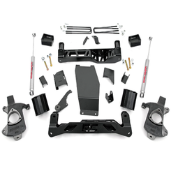 """ROUGH COUNTRY - 2014-UP GM 1500 PICK UP 4WD 5"""" KNUCKLE KIT 