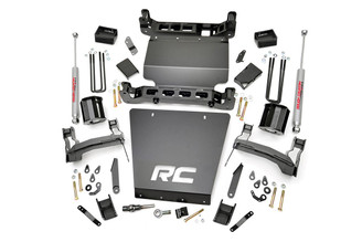 "ROUGH COUNTRY - 2014-16 GM 1500 4WD 5"" BRACKET KIT | LIFT KIT: 291.20"