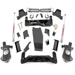 """ROUGH COUNTRY - 2014-UP GM 1500 PICK-UP 4WD 7.5"""" KNUCKLE KIT 