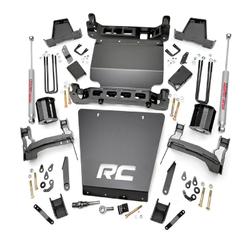 "ROUGH COUNTRY - 2014-UP GM 1500 4WD 7"" BRACKET KIT | LIFT KIT: 298.20"