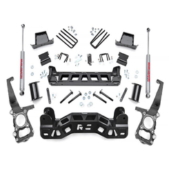 "ROUGH COUNTRY - 2009-14 FORD F150 2WD 6"" LIFT KIT: 573.2"