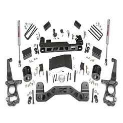 "ROUGH COUNTRY - 2015-16 FORD F150 4WD 4"" LIFTKIT: 555.22"