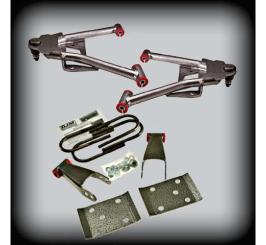 DJM - 2007-17 2/3 COMPLETE LOWERING KIT 2WD W/CAST SPINDLES - DJM2515-2/3