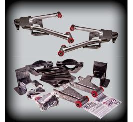 DJM - 2007-17 2/3 COMPLETE LOWERING KIT 2WD W/CAST SPINDLES - DJM2515-2/4