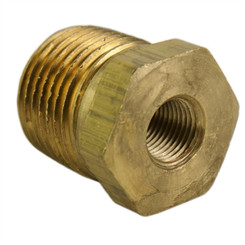 "ALKON - 1/2"" MALE TO 1/8"" FEMALE NPT REDUCER: 05-BF12-23"