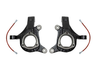 """MAXTRAC - 2007-15 CHEVY 1500 TRUCK/SUV 3"""" LIFT SPINDLES W/ BRAKE LINES: 701330BL"""