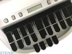 Steno Writer Black Shimmer Felt Keytop Covers Free US Shipping