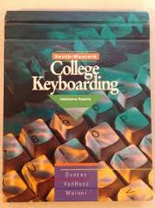 South-Western College Keyboarding Intensive Course