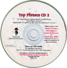 Top Phrases CD2  Great Dictation for Stenograph®