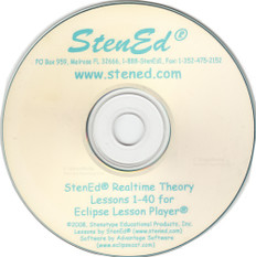 StenEd Realtime Theory Lessons 1-40 for Eclipse Lesson Player