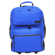 Rolling Medium Size Backpack for Stenograph® Writer  Royal Blue