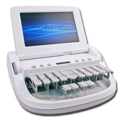 Stenograph Diamante in Lunar White