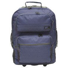 Rolling Medium Size Backpack for Stenograph® Writer  Navy USED