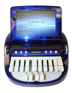 Stenograph™ Diamante™ Pro Writer Refurbished in Diamante Writer in Blue My Mind Color