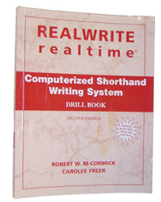 REALWRITE RT Computerized Shorthand Writing System Drill Book 2nd Edition - Very Good Condition