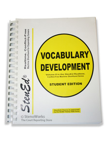 StenEd Vocabulary Development, Student Edition Acceptable Condition