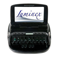 Stenograph™ Luminex Pro Writer Classic Black Refurbished