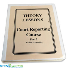 Phoenix Theory Court Reporting Course - Part 1 and Part 2 - Free Shipping