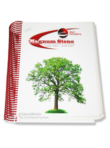 Magnum Steno Write Short - Write Fast  by Mark Kislingbury, Signed Copy