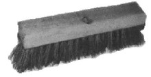 BRUSH DECK COIR 180MM WIDTH WITH LONG HANDLE