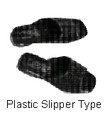 SANDALS PLASTIC SLIPPER-TYPE SIZE-M