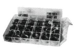 COPPER RING KIT 30SIZES/568PCS IN ACRYL CASE