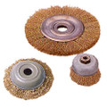 IMPA 510776 Wire wheel brush, steel, crimped wire - B-quality - _Ç÷250 mm