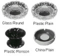 ASH TRAY PLASTIC PLAIN DIAM 145MM