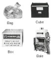 SPARE CUBE CAPACITY 75LBS FOR GARBAGE COMPACTOR