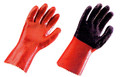 GLOVES PLASTIC OIL/ACID RESIST LONG