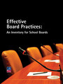 Effective Board Practices: An Inventory for School Boards
