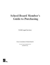 School Board Member's Guide to Purchasing