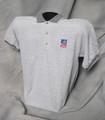 TASB Logo Golf Shirt - Gray (Taxable)