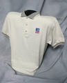 TASB Logo Golf Shirt - Tan (Taxable)
