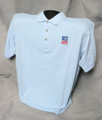 TASB Logo Golf Shirt - Light Blue (Taxable)