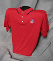 TASB Logo Polo Shirt - Red/Navy (Taxable)