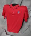 TASB Logo Polo Shirt - Red/Navy (Taxable)