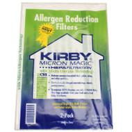 Kirby 205811 F-Style HEPA Vacuum Bags 2 Pack