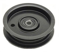 756-0627D Universal Riding Lawn Mower Idle Pulley Replacement Tractor Flat Idler Pulley