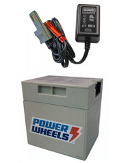 Power Wheels Barbie Jammin Jeep Rechargeable Battery and Charger