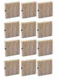 Hamilton Humidifier 12HF Filter Pad EP037, 12 Pack
