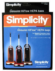 Simplicity Vacuum Bags S10-6 for Synchrony, Genuine