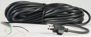 Universal 50 Foot Commercial Vacuum Power Cord