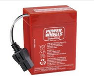 Power Wheels W0028 Military Jeep 6 Volt Battery