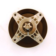 Cub Cadet 918-04865A Mower Spindle and Pulley - Genuine MTD