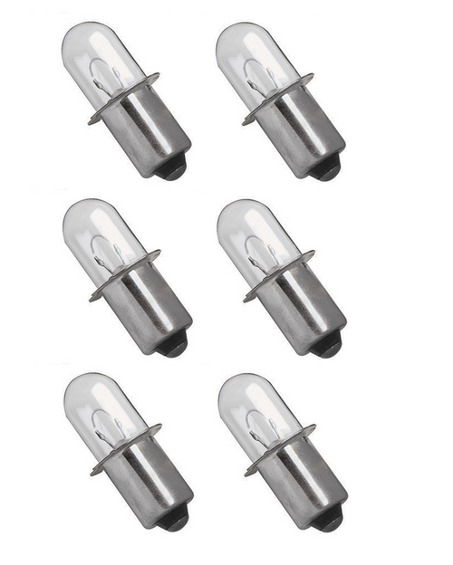 Milwaukee V18 18 volt Flashlight Xenon Bulb V18 Worklight (6 pack)