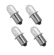 Xenon Flashlight Bulb (4 pack) for Hitachi Rigid Makita