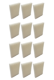 12 Wicking Humidifier Filters for Bionaire BCM646, BCM658