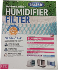 RPS Best Air Wick Humidifier Filter H65-C for Bionaire, Holmes, GE