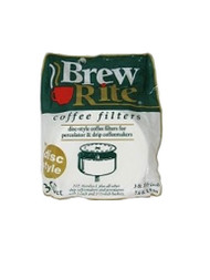 Flat disc-style paper coffee maker filters 3.5 inch 300 count